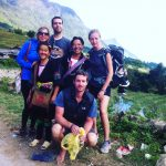 our trekking group
