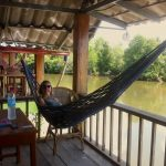 This is the life! who doesn't love hammocks :)