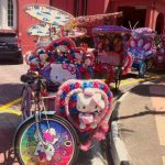 adorable and crazy trishaws!