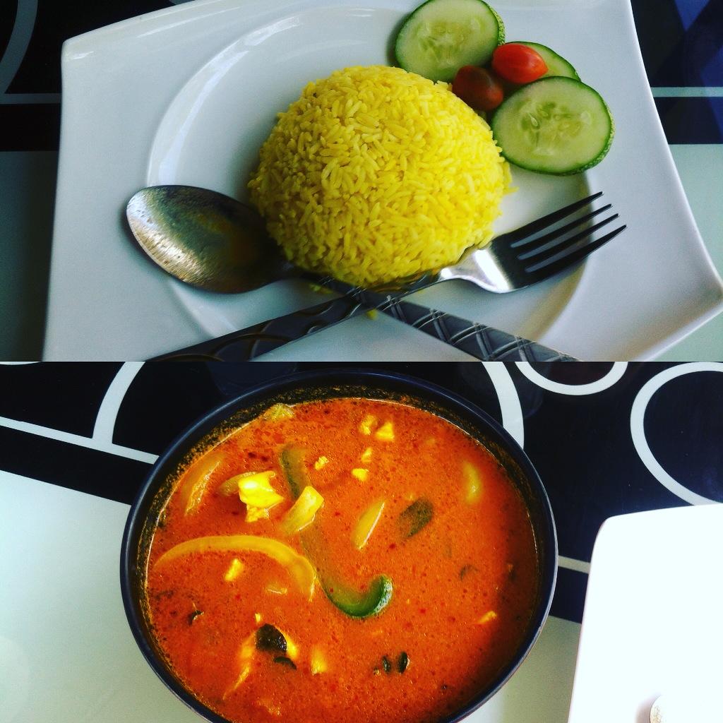 malay curry, nom nom