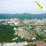 Flying out of Penang