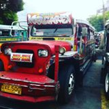 First sight of a jeepney, love them