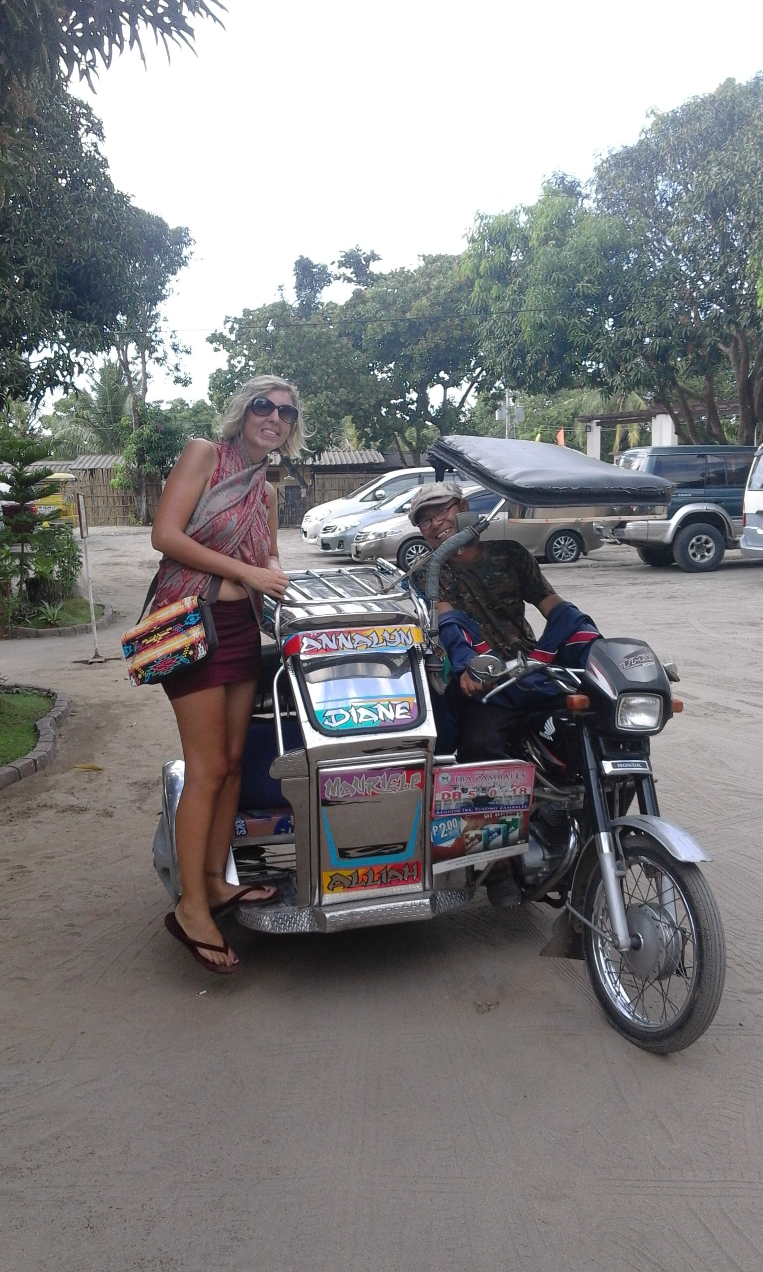 our trike driver, awesome guy :)